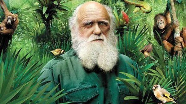 达尔文与美女的玩笑对话,美女脸都红了!